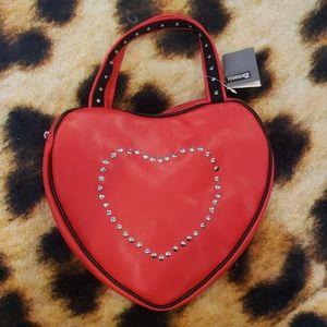 Large Demonia Heart Purse